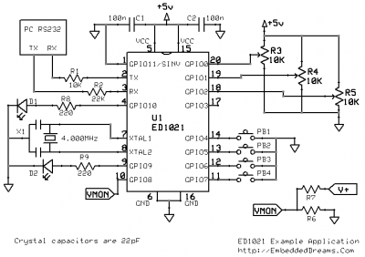 ED1021 - Example Application