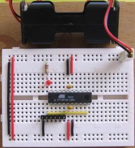ATtiny26 nano development board