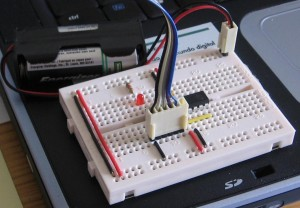 Programming the ATtiny26 AVR with a parallel port programmer