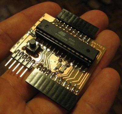 EDuino - serial Arduino clone